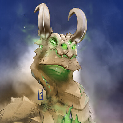 Francisco kobo dragon verde low