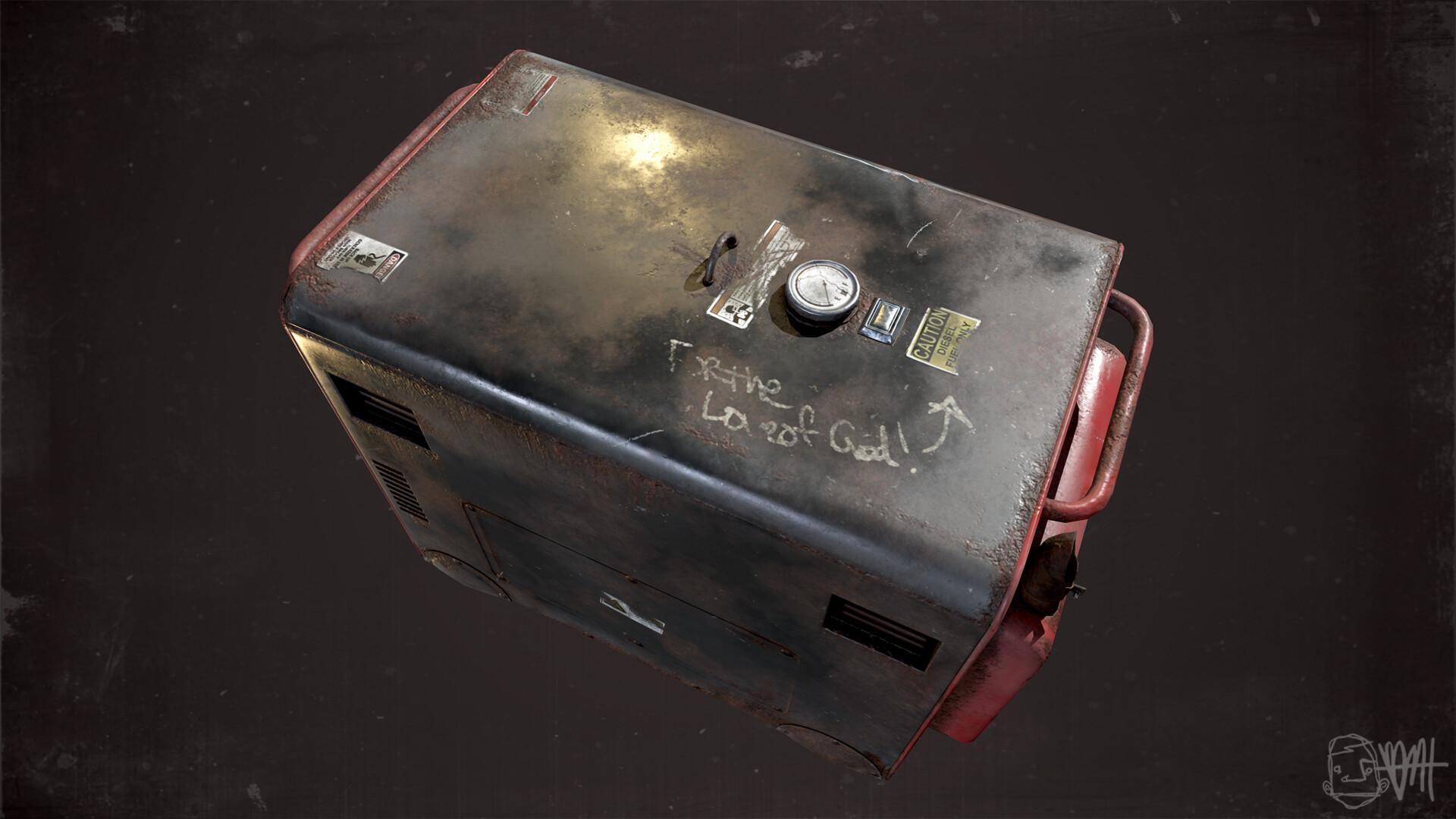 Brett marshall tucker generator render 3
