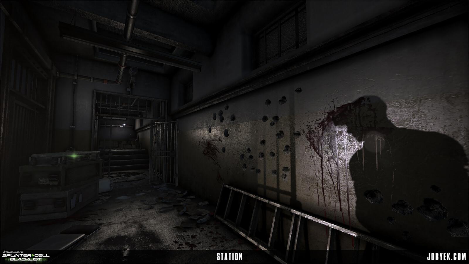 Station sub-level
