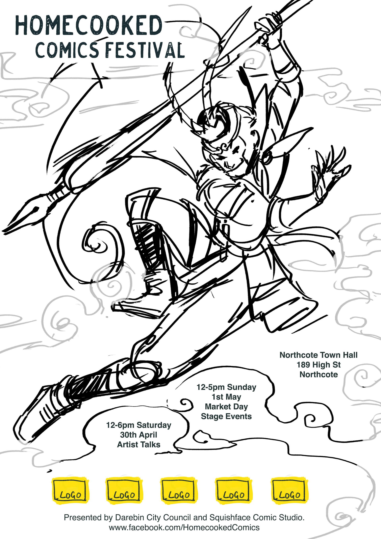 Vikki ong homecooked poster draft3