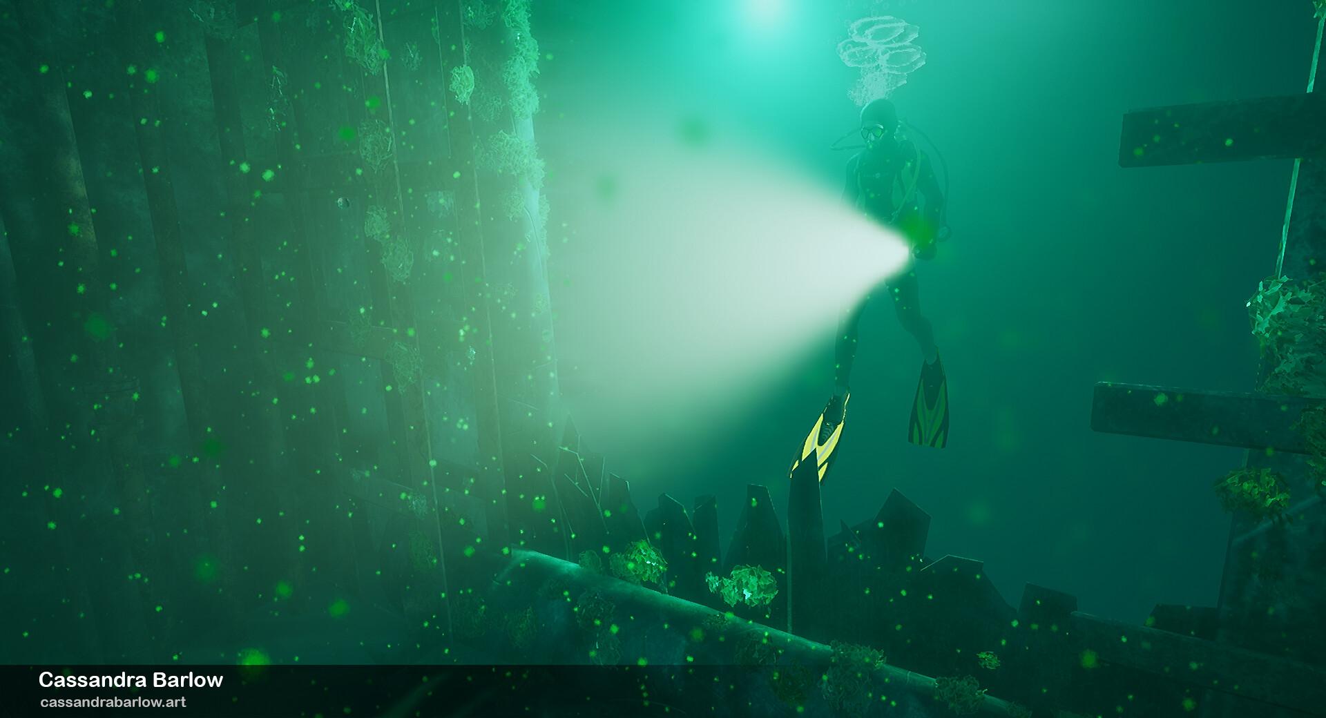 Cassandra barlow cassandrabarlow submarinewreck 1