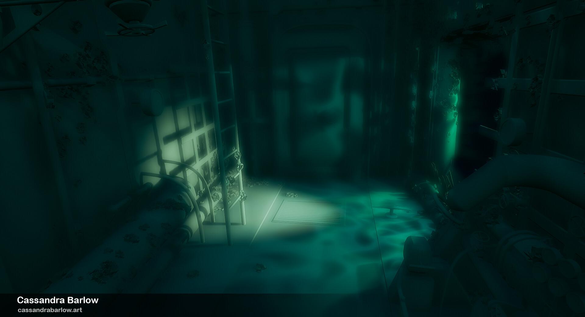 Cassandra barlow cassandrabarlow submarinewreckjustlighting