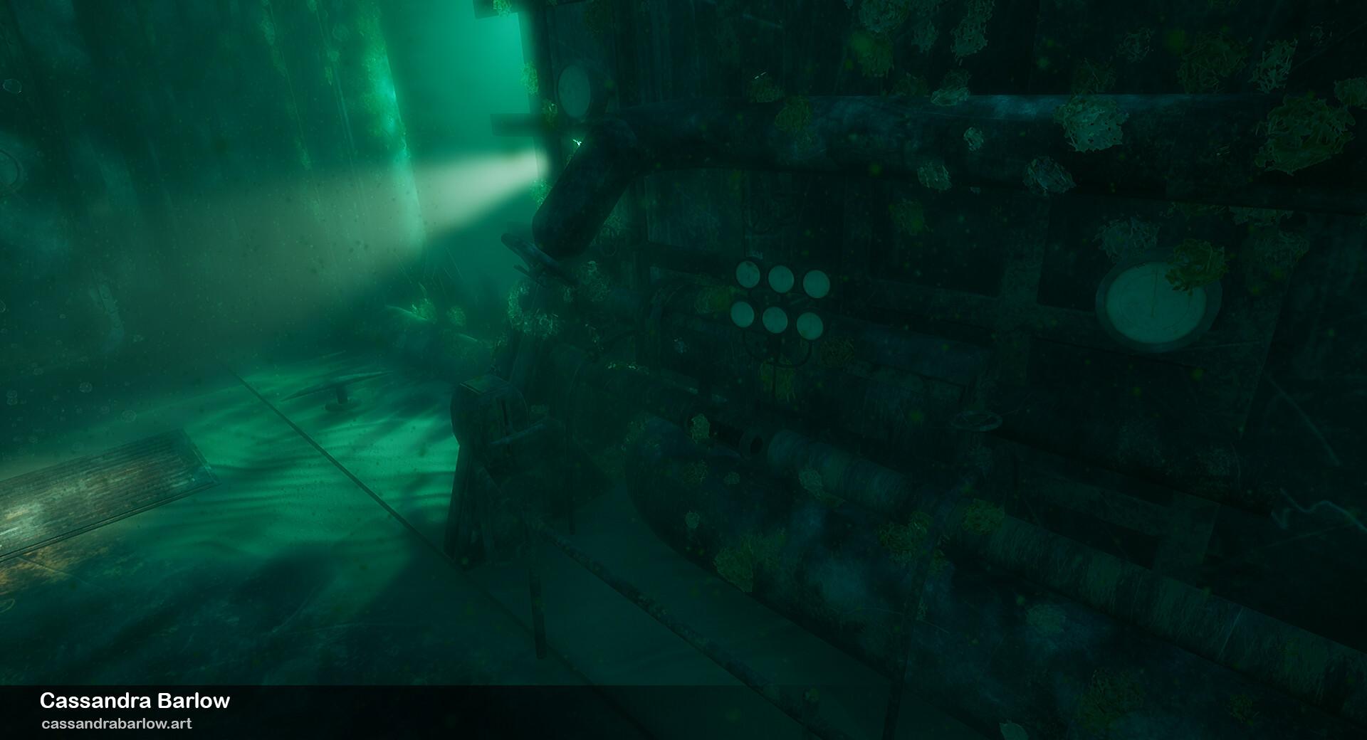 Cassandra barlow cassandrabarlow submarinewreck 3