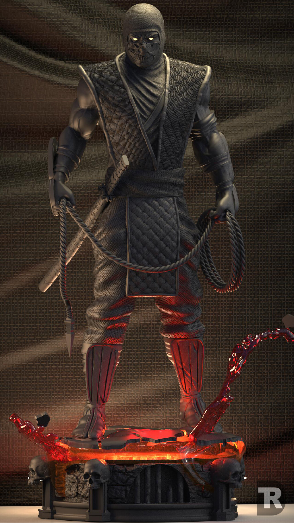 Artstation Scorpion Mortal Kombat Klassic Daniel T