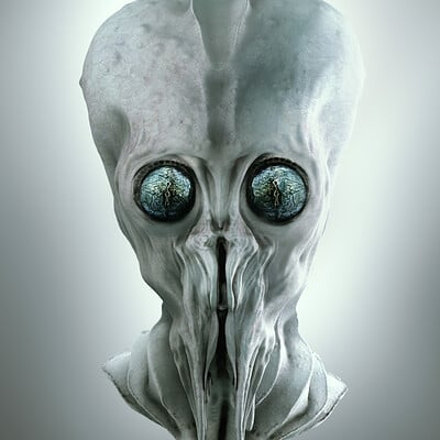 Glenn porter sculptris alien by tavenerscholar db854hk