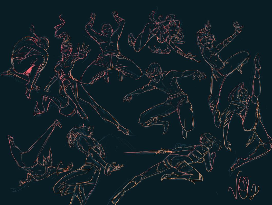 Vikki ong 661701 dynamic pose sketches copy