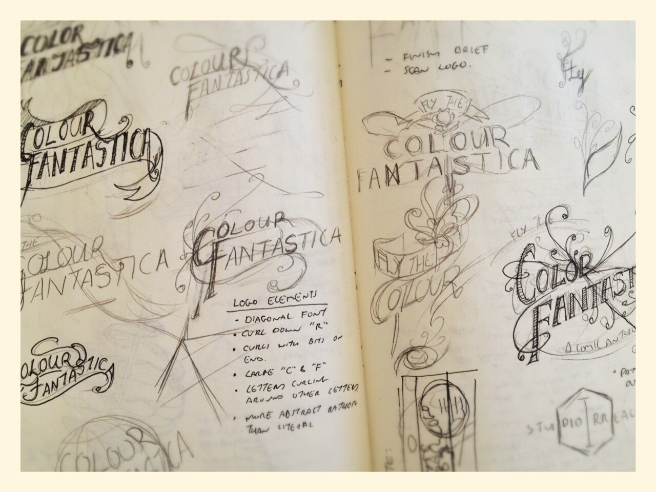 Early Logo Sketches