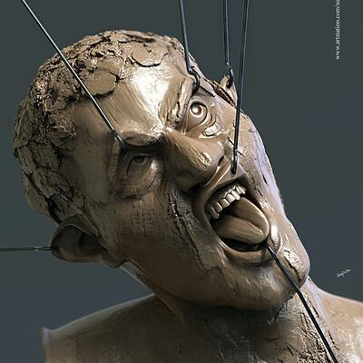 Surajit sen pain digital sculpting surajitsen april2019