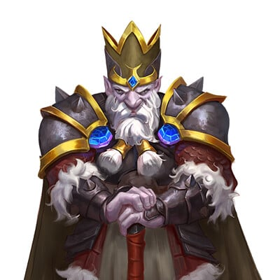 Leonardo santanna pzo1034 duergar king