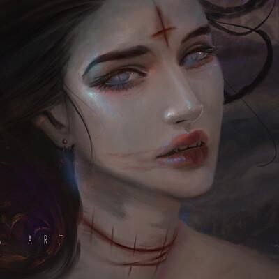 Mignon zakuga vampire chick
