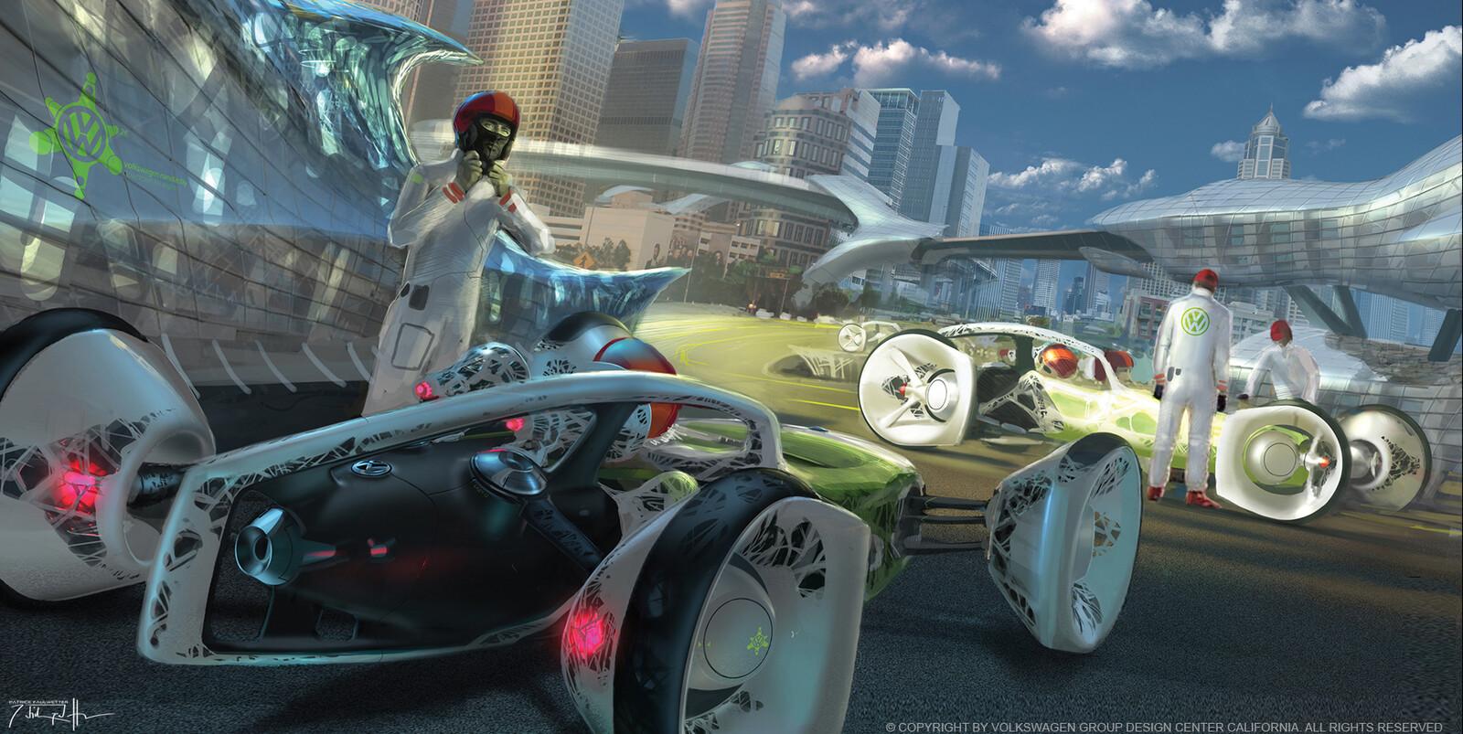 Volkswagen Nanospyder Concept