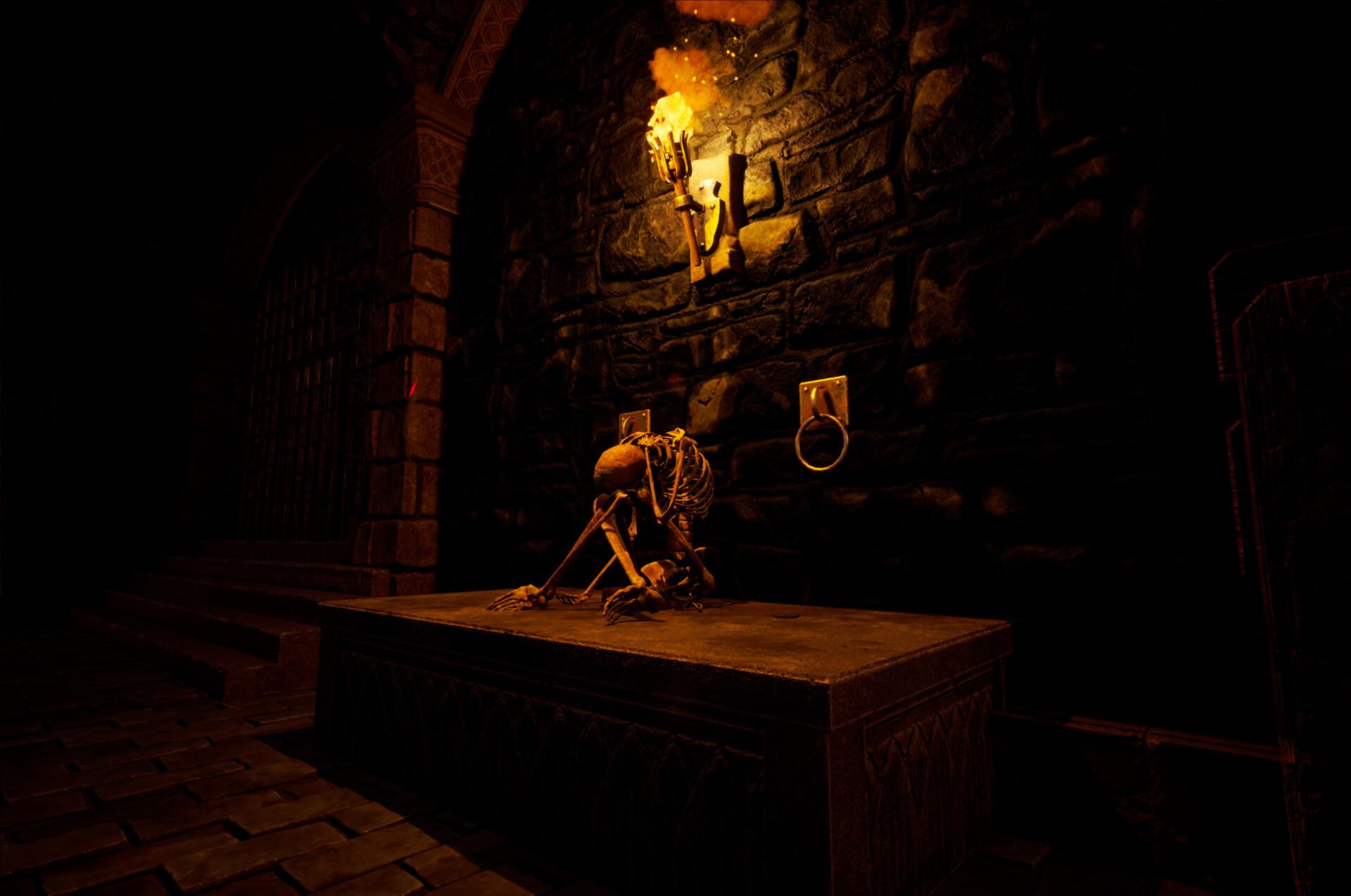 ArtStation - Medieval Dungeon - Unreal Engine 4, Ghost Design