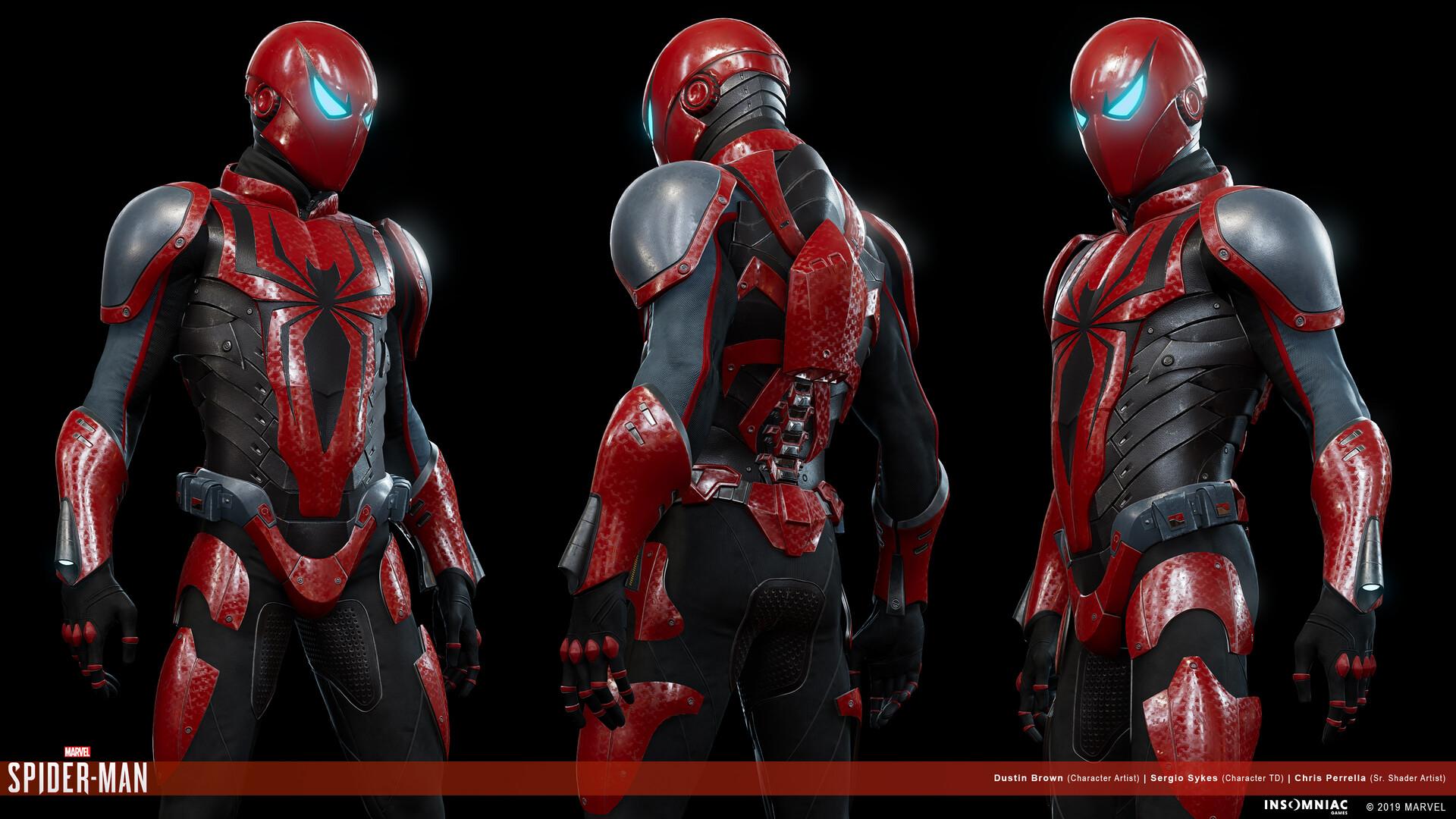 Dustin brown marvels spiderman herosuit mk3 02