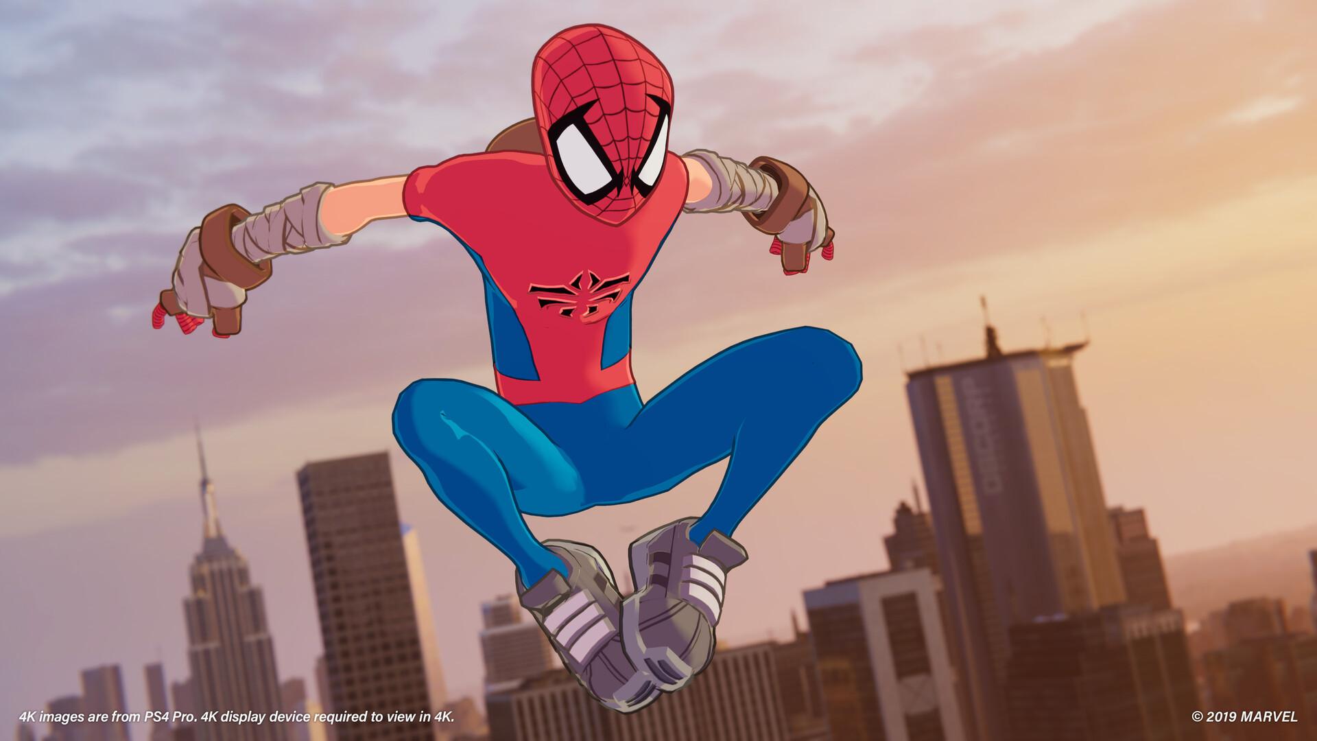 Dustin brown spider man spiderclan a