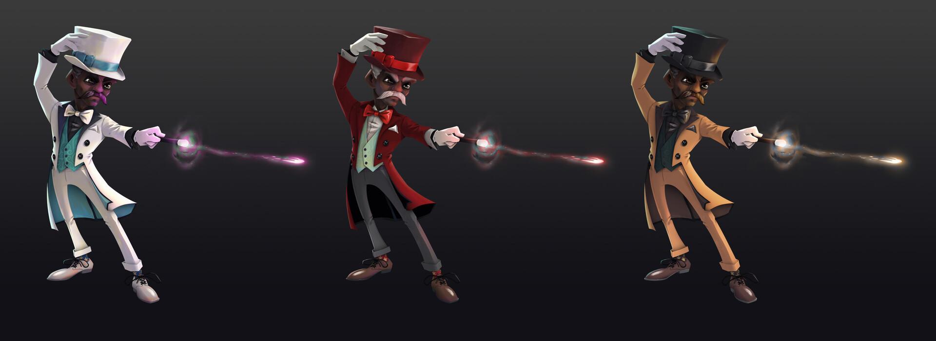 Jake bullock magician 07 variants