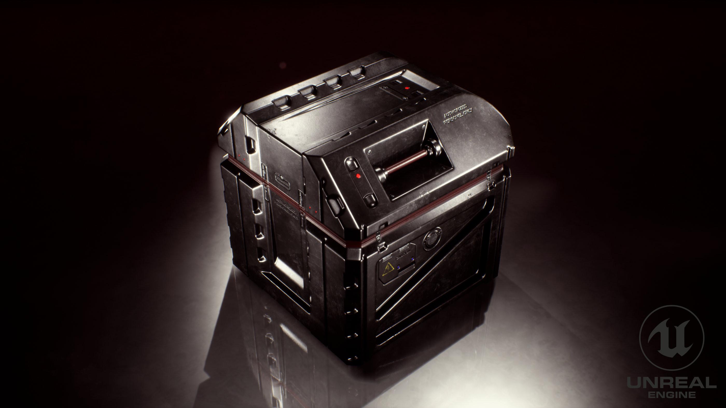 Unreal Engine 4 Render - Back