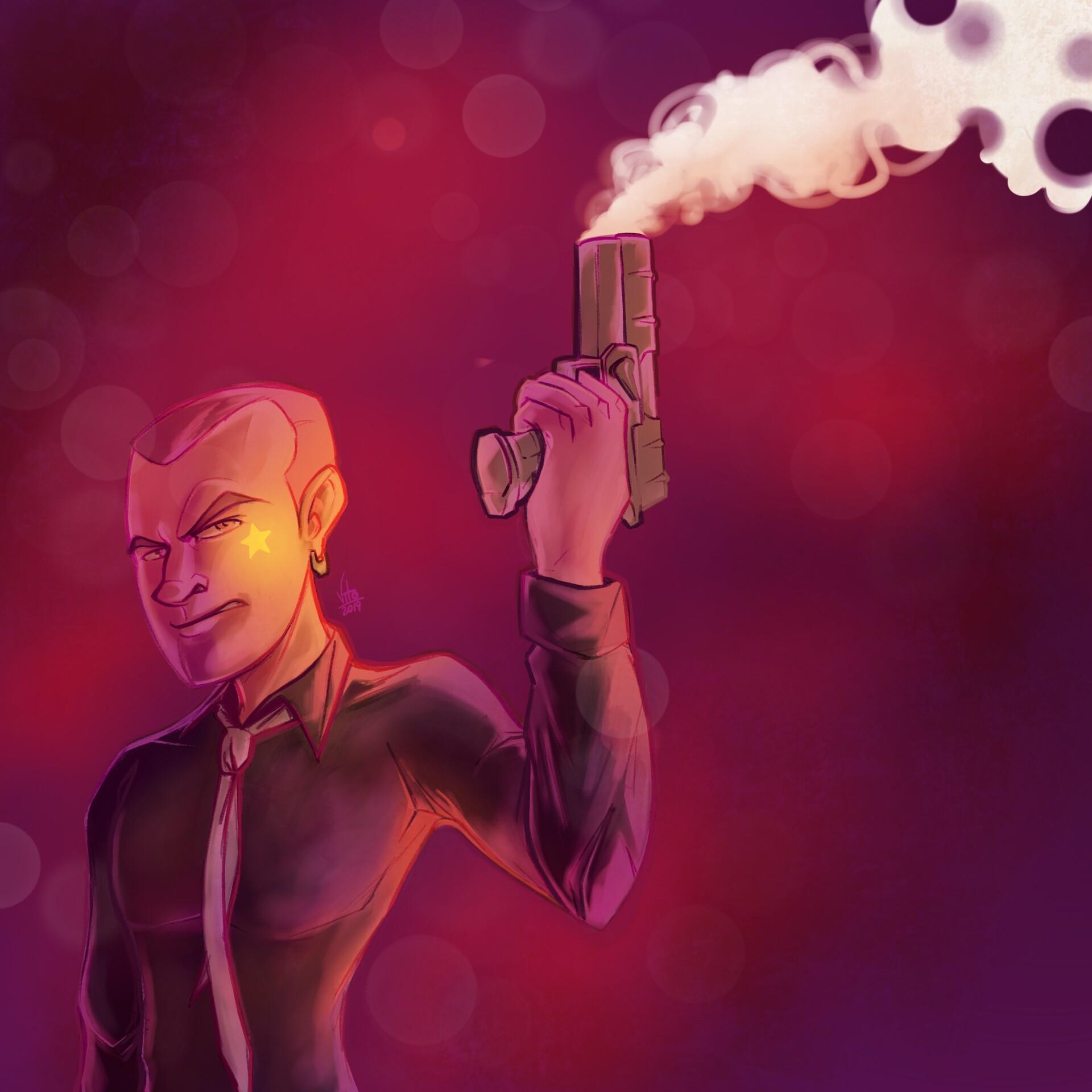 Vito potenza man with gun
