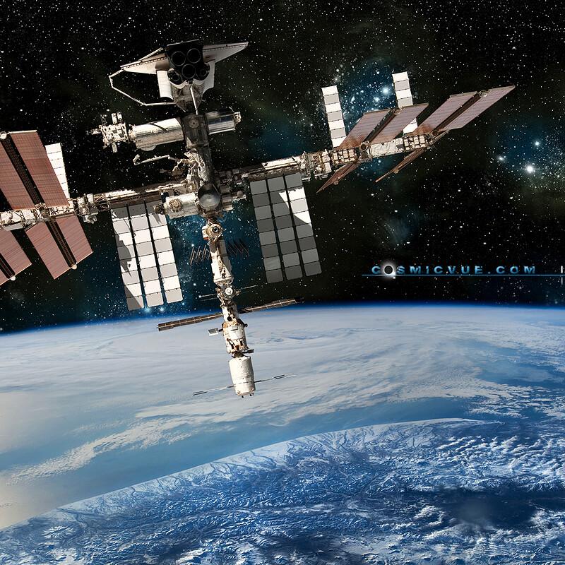 ISS & Shuttle