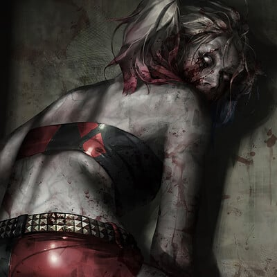 Jeehyung lee zombie harleyquinn