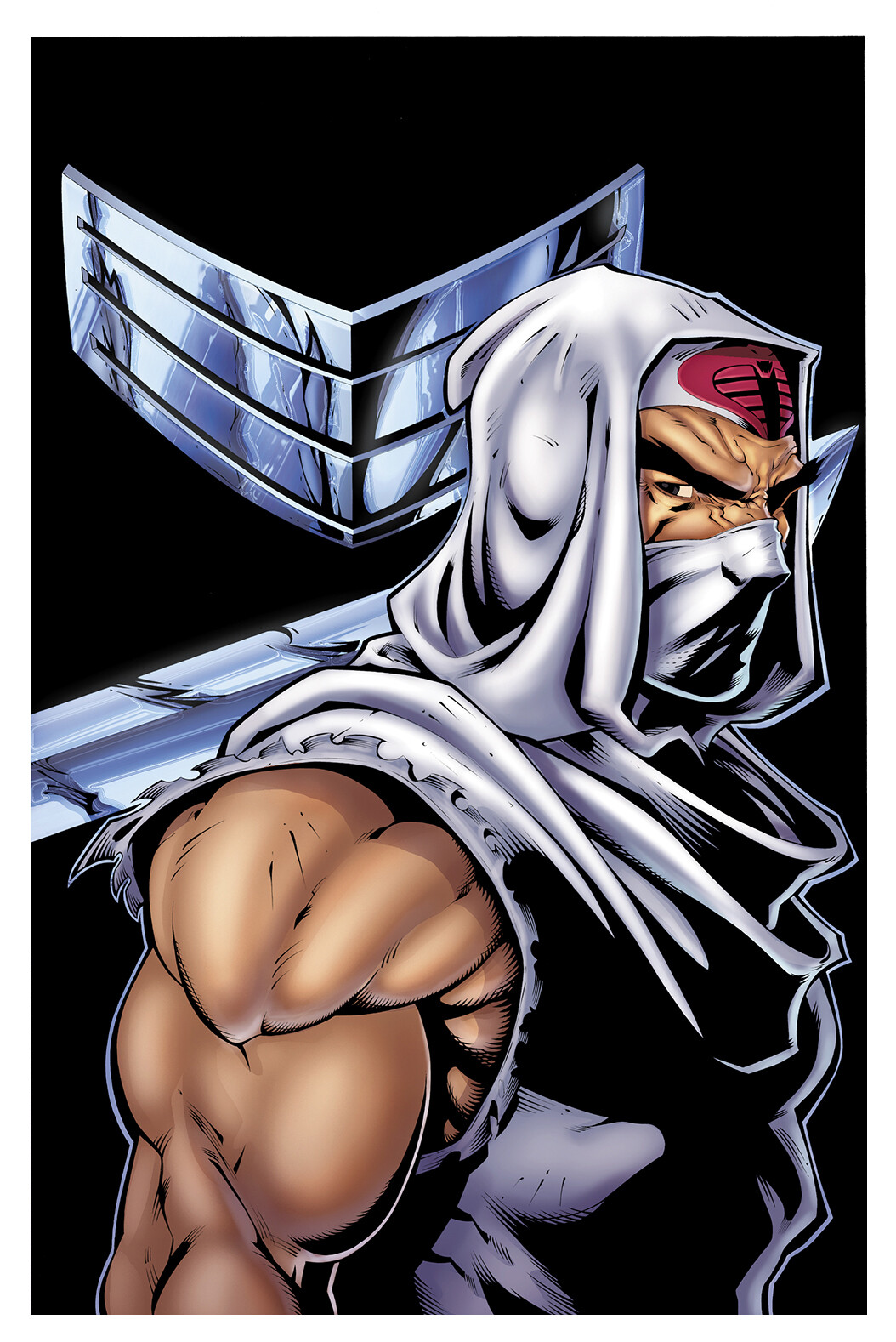 Snake Eyes and Stormshadow