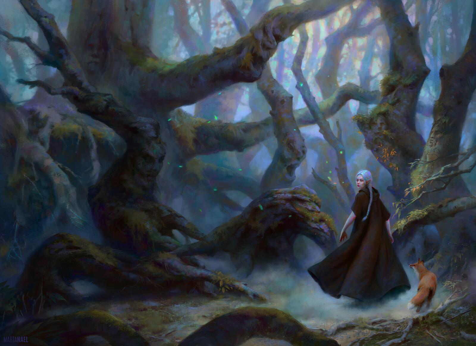 Espina plateada y el bosque de los susurros Book Cover