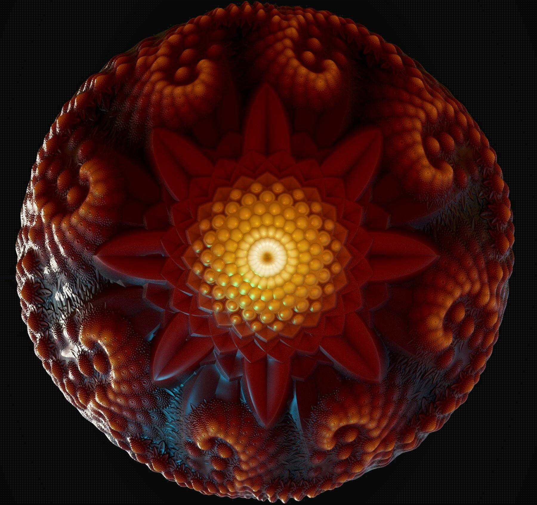 Marcelo souza mandala sphere 1