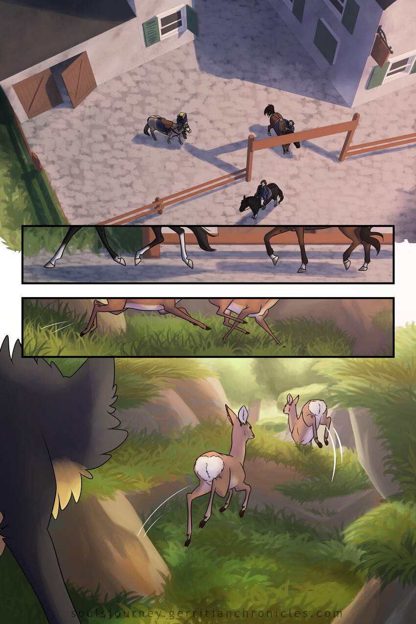 [Soul's Journey] Comic Excerpt: Chapter 4 Pages 12-15