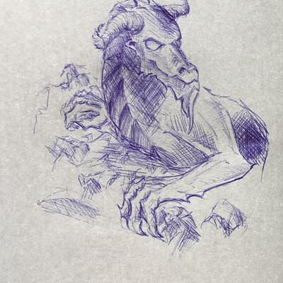 Ivo ludwig drache sketch