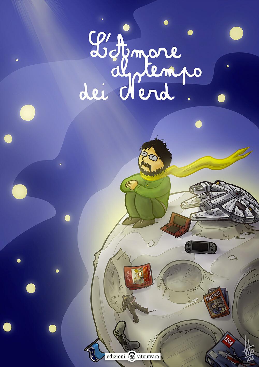 """""""L'Amore al tempo dei Nerd"""" Book Cover"""