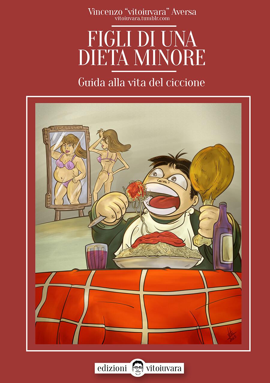 """""""Figli di una dieta minore"""" Book Cover"""