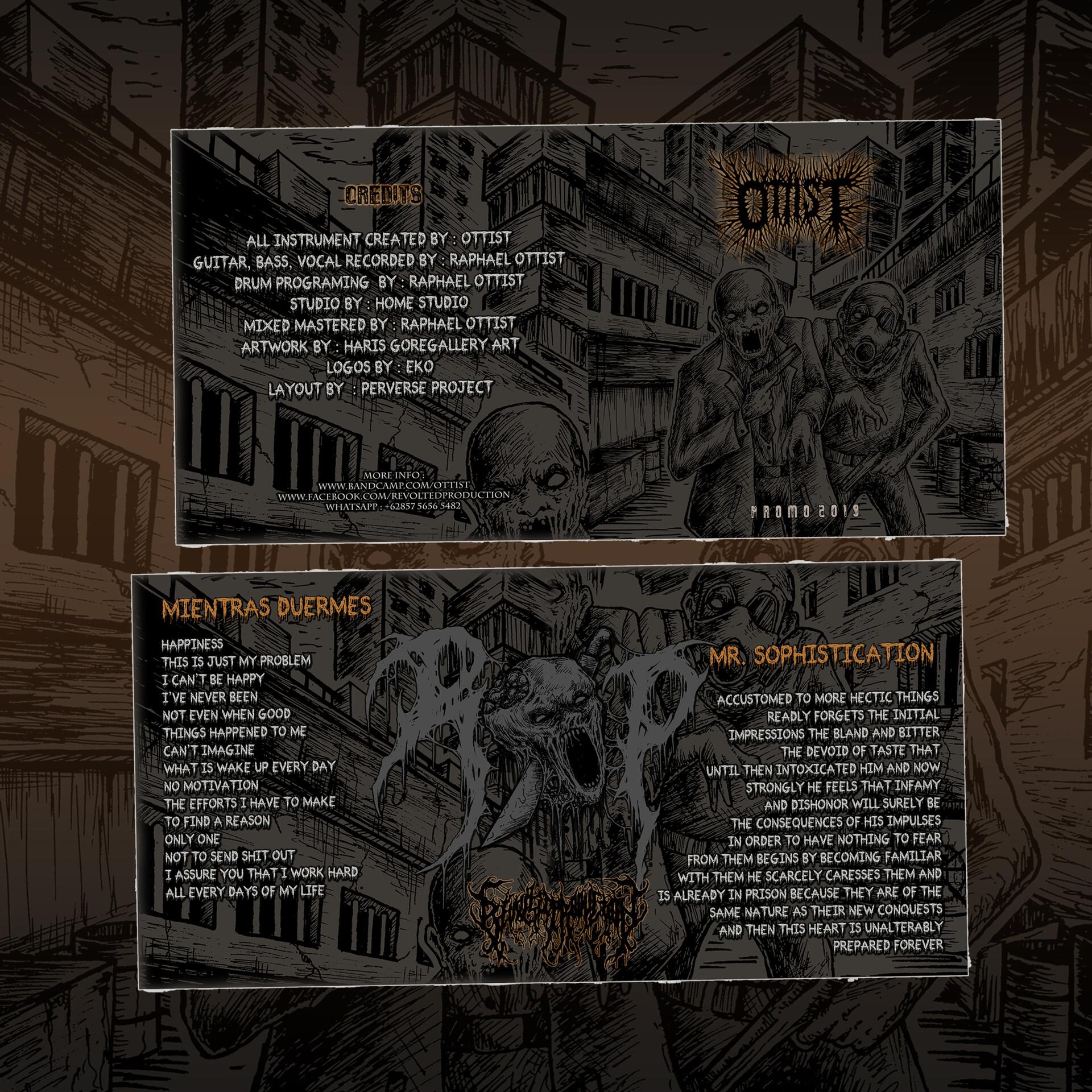 ArtStation - OTTIS T (BRAZIL) - PROMO 2019, Perverse Project