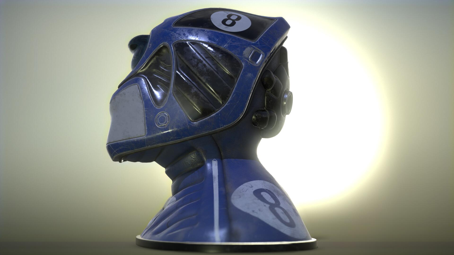 Tomasz wieczorkowski sci fi helmet 01