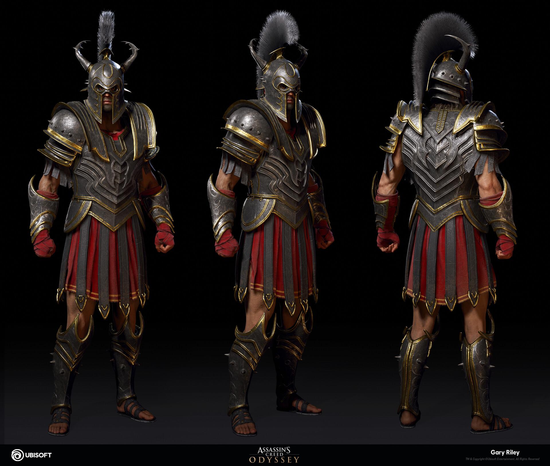 Artstation Myrmidon Assassin S Creed Odyssey Gary Riley