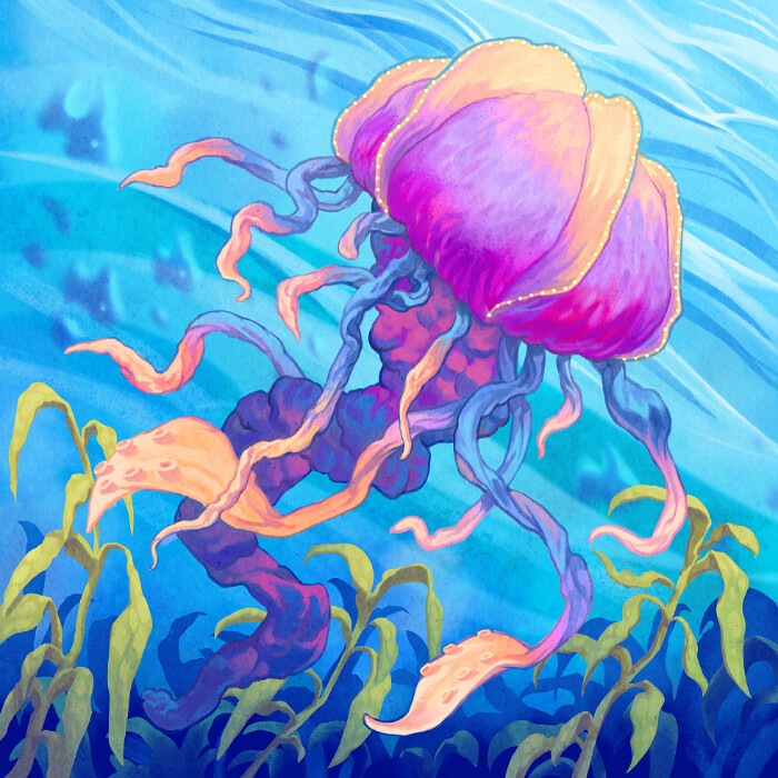 Damien mammoliti evolution02 jellyfish dm