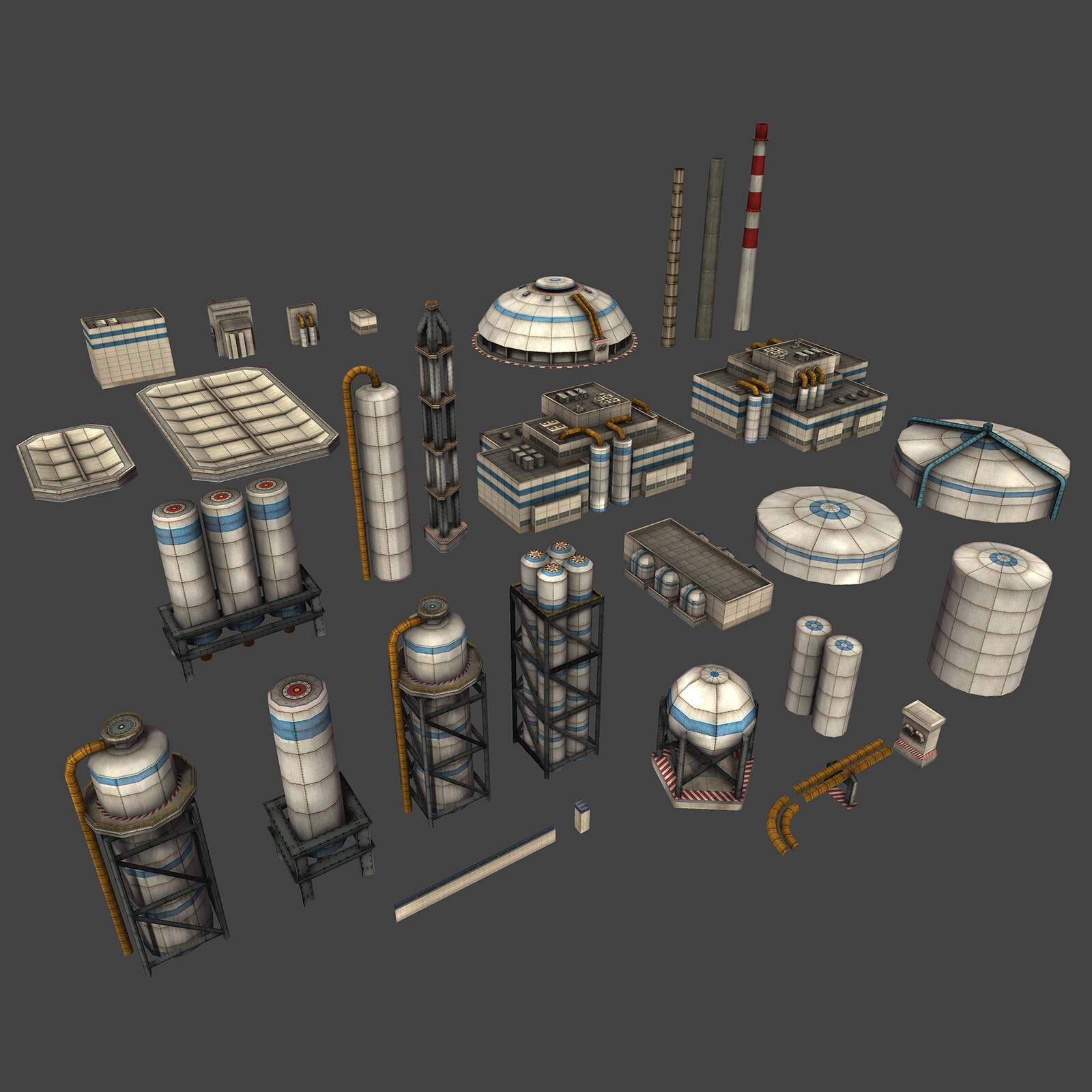 Industrial assets.