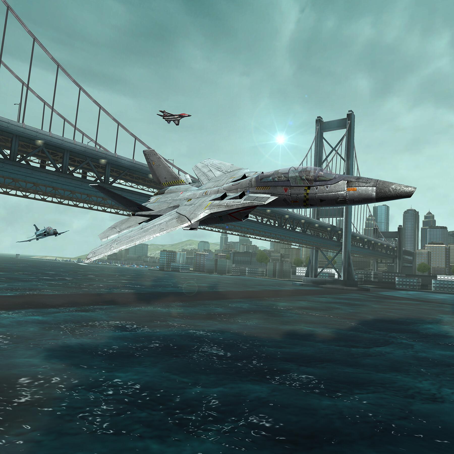 Bridge level.