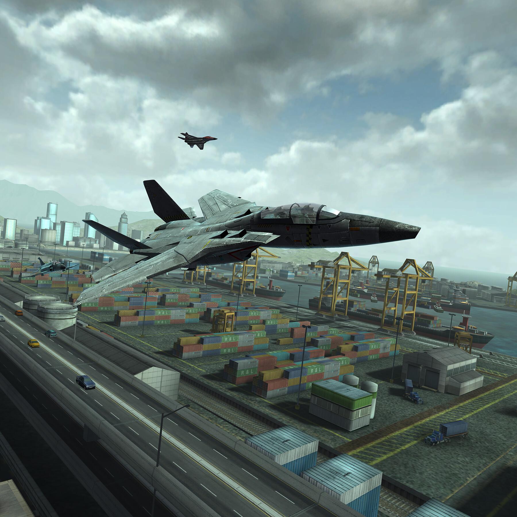 Docks and shipyards.