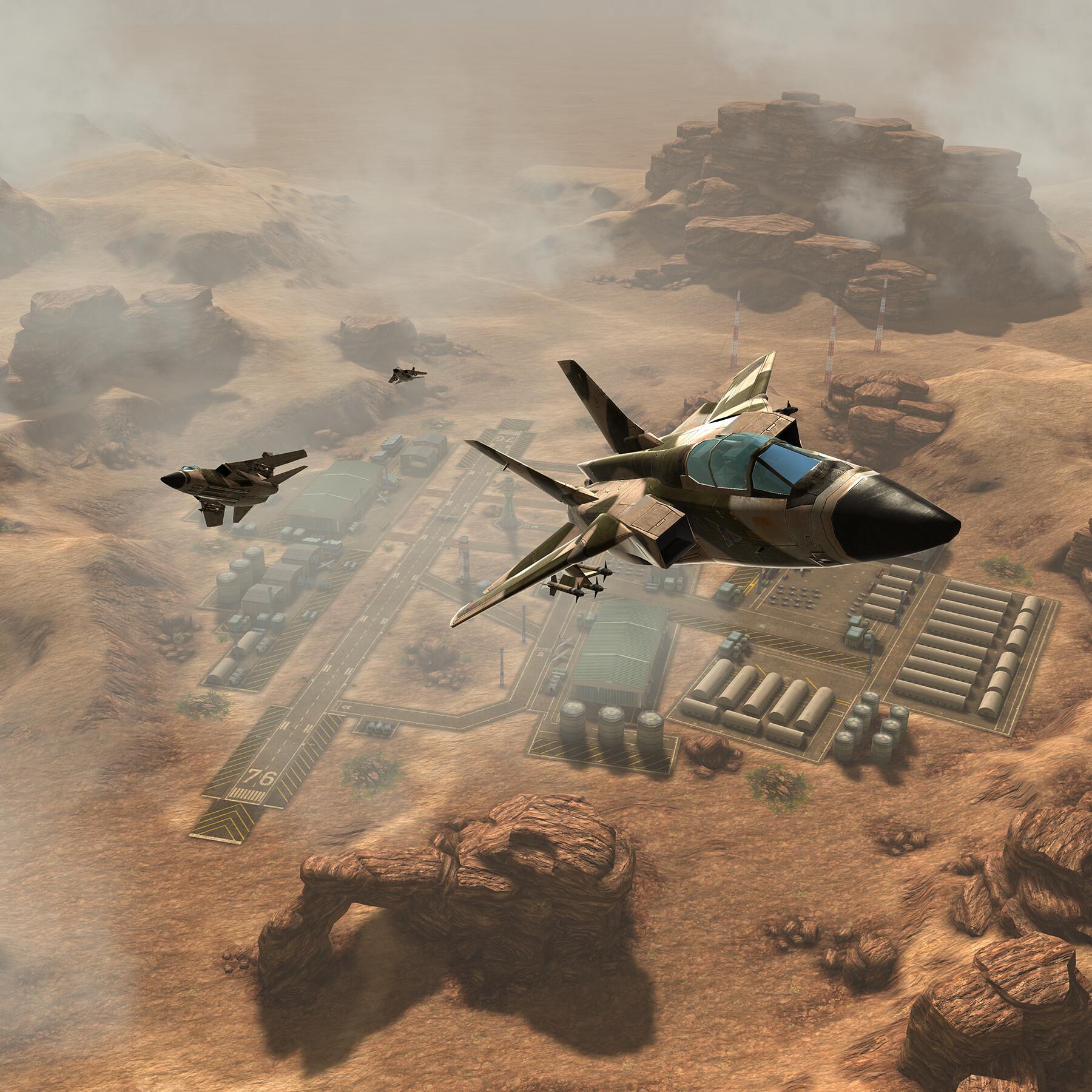 Desert deployment.