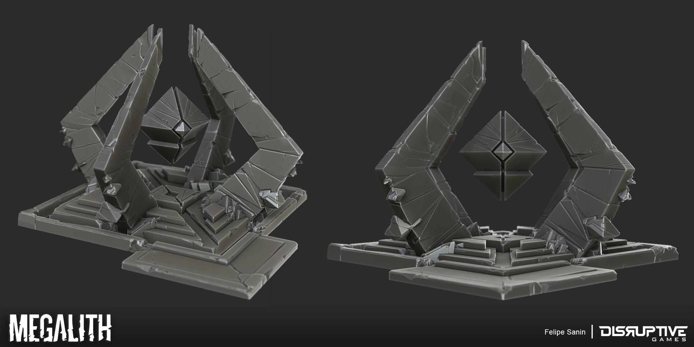 Siege Inhibitor - High Res Sculpt