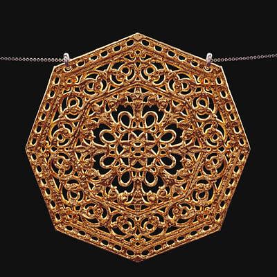 Notre Dame Necklace