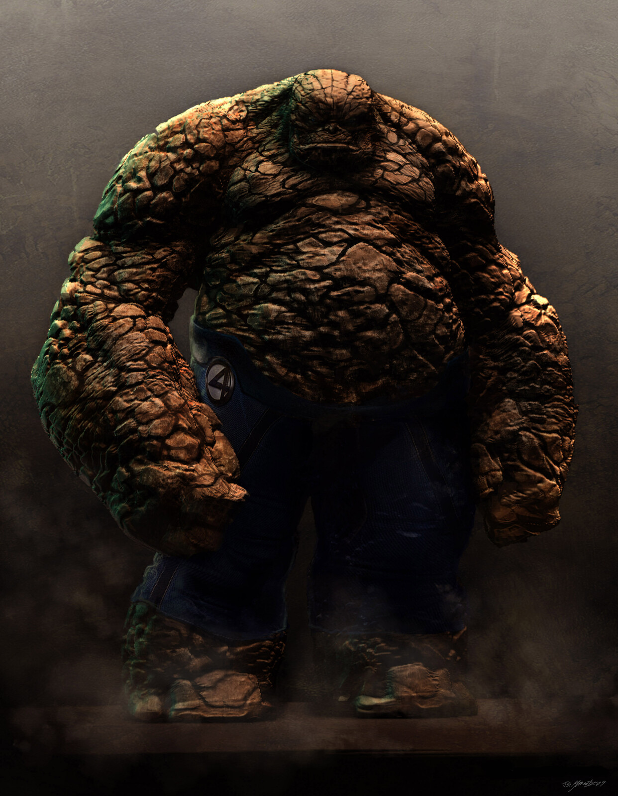 Fantastic 4: Thing Concept Art
