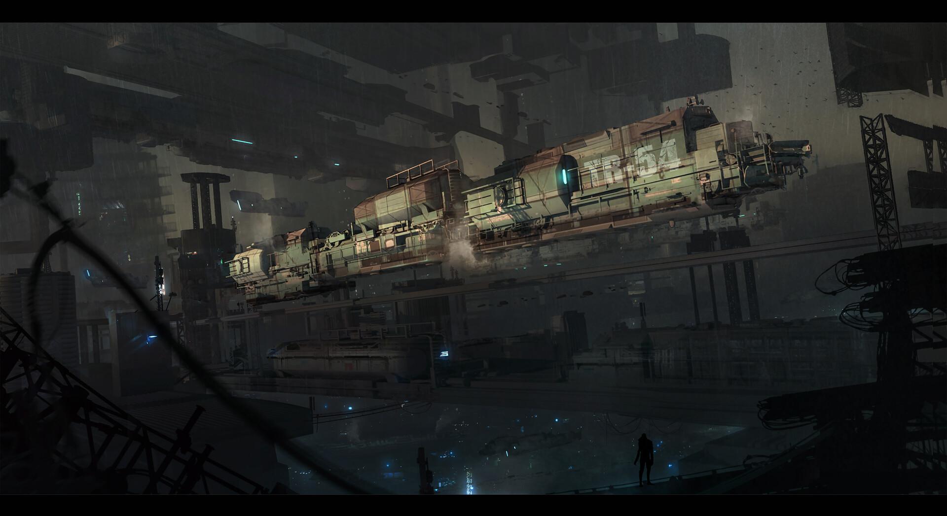 Julian calle sci fi stationa