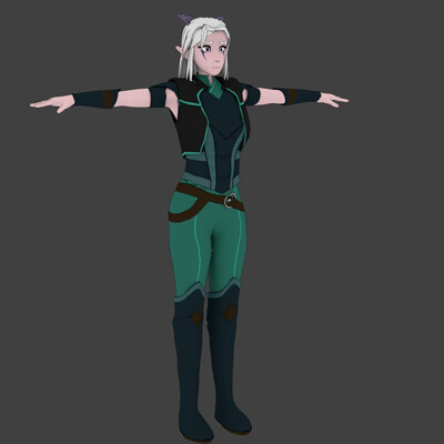 Andrew wilkins rayla assassin outfit3