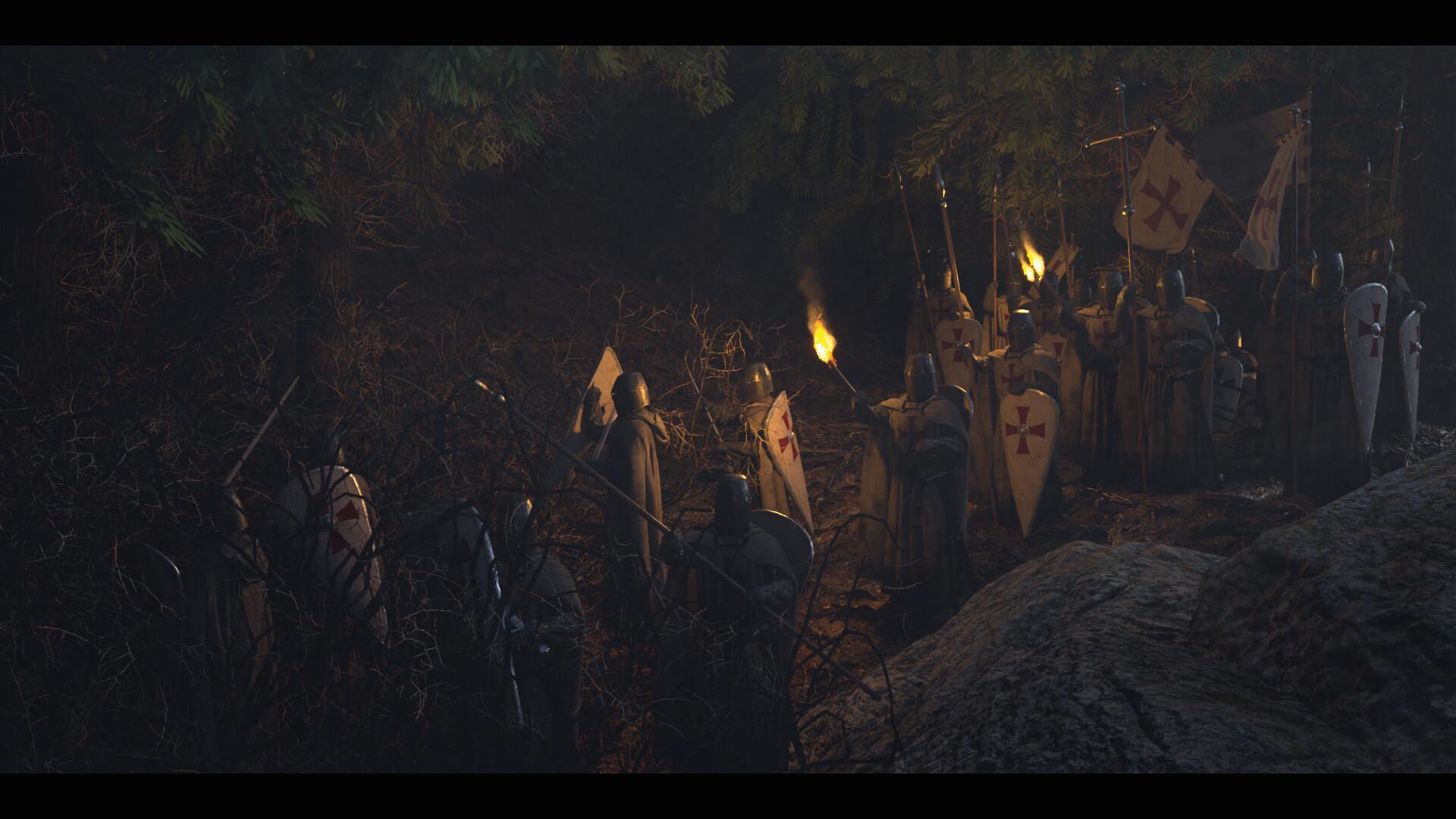 Wojtek kapusta templars forest 04