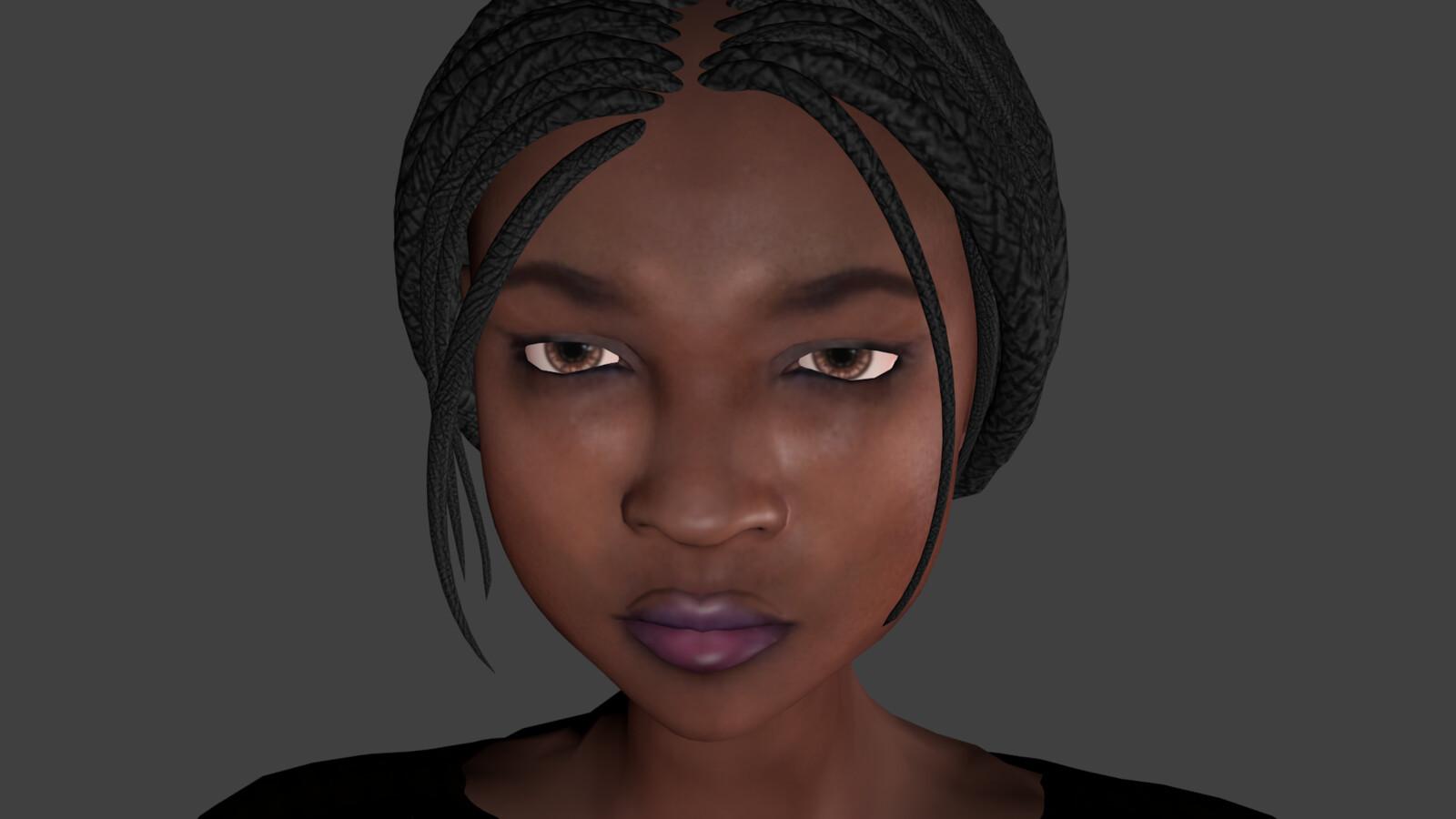Meet Eve, the main protagonist