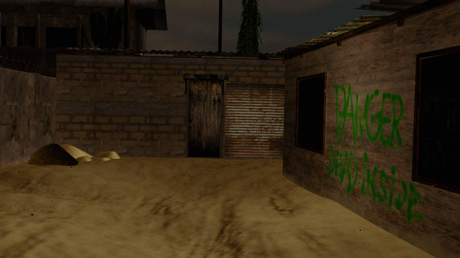 Test render of the previous environment.