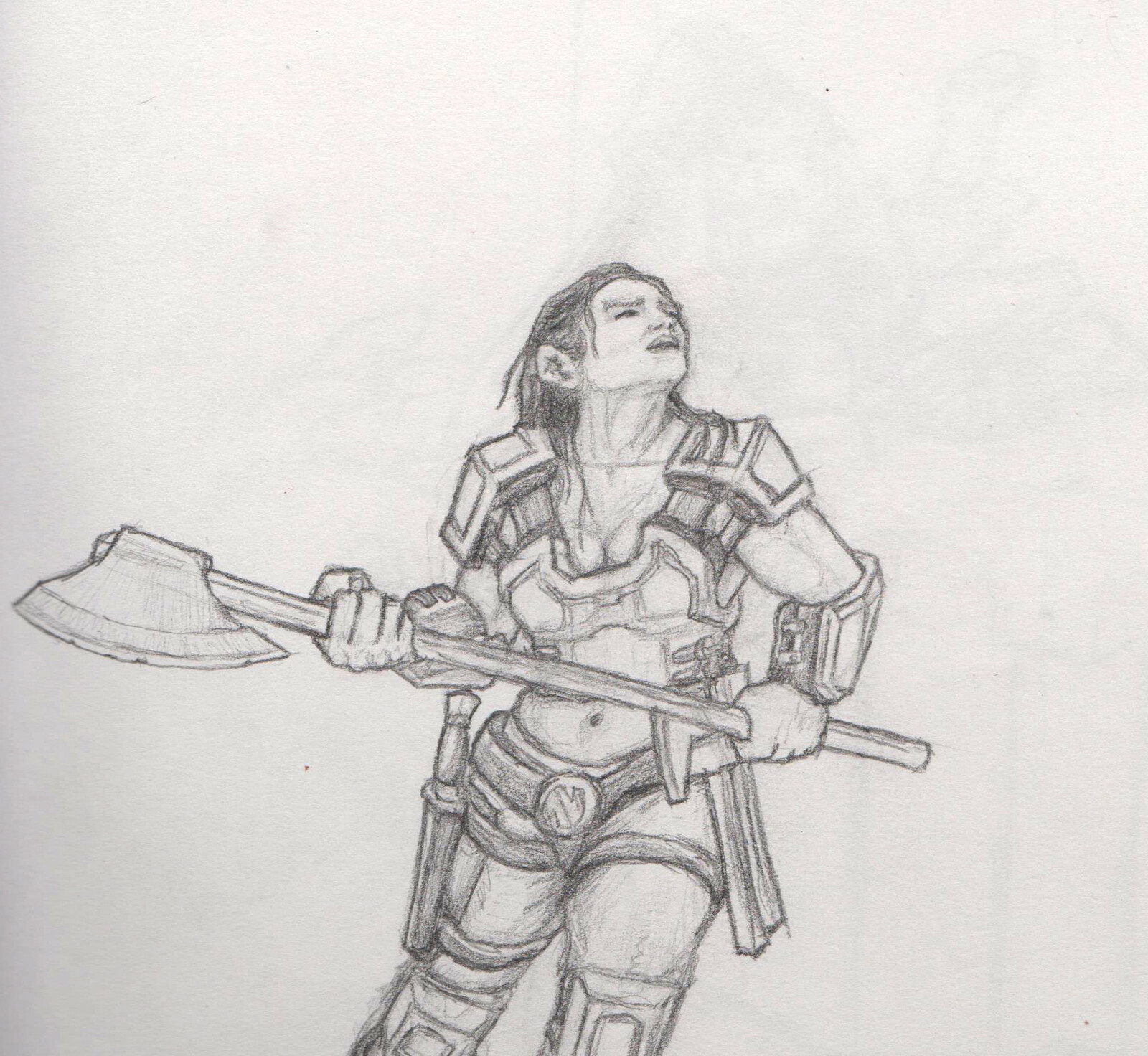 Dwarf facing larger opponent