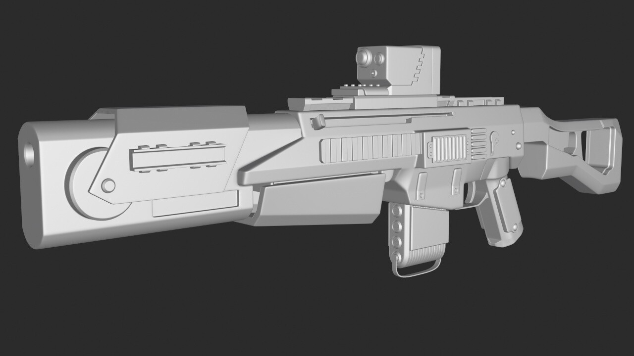 ArtStation - Borderlands-inspired Weapons, Liam Donnelly