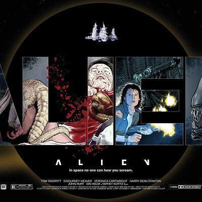 Paul adams alien poster