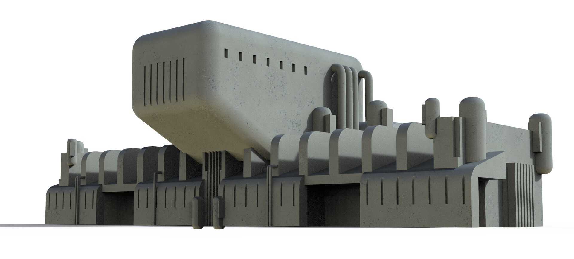 MoI model of background structure